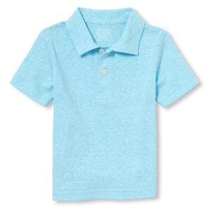 NWT Children's Place Light Blue Polo Shirt 18-24mo